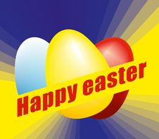 Free Easter Eggs Royalty Free Stock Photography - 24575147