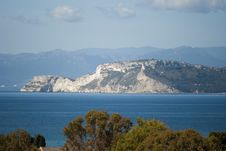 Cagliari - The Promontory Of Sant Elia Royalty Free Stock Photography