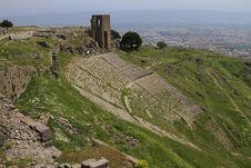 Free Pergamon Acropolis Theater Royalty Free Stock Image - 24577316