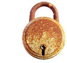 Free Rusted Iron Lock Stock Photos - 24578463