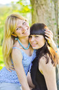 Free Two Beautiful Sisters Stock Photo - 24586350