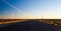 Free Sunset On The Road Stock Photography - 24587502