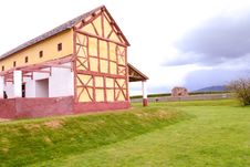 Free Wroxeter Replica Roman Villa Stock Photography - 24580122