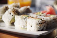 Free California Rolls Royalty Free Stock Images - 24581319