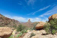 Free AZ-Superstsition Mountain Wilderness Stock Image - 24581591