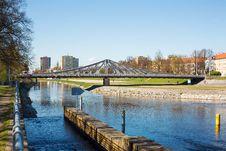 Free New Bridge Over Vltava River Stock Photography - 24582562