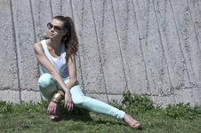 Free Beautiful Young  Fashion Woman Stock Photo - 24588380
