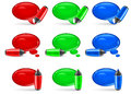 Free Speech Bubbles & Marker Stock Images - 24591014