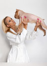 Free Veterinary Doctor And A Dog Royalty Free Stock Images - 24593269