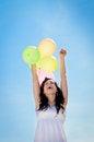 Free Woman Celebrating Stock Images - 24597954