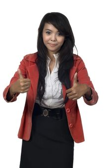 Free Two Thumbs Up Stock Photography - 24590312