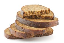 Free Slices Of Brown Bread Stock Image - 24590841