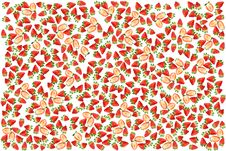 Free Strawberry Fruit Background Royalty Free Stock Photography - 24593727