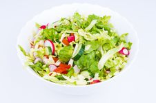 Free Lettuce From Green Goods Royalty Free Stock Photography - 24595437