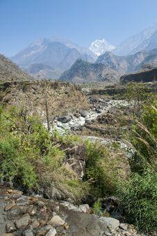 Spring In Himalaya Royalty Free Stock Photos