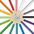 Free Pencils Target Stock Photography - 2466252