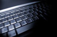 Free Laptop Keyboard Royalty Free Stock Photos - 2460128