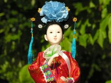 Free Geisha Doll Royalty Free Stock Image - 2460836