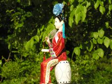Free Geisha Doll 3 Stock Photos - 2460873
