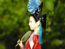 Free Geisha Doll 2 Royalty Free Stock Photo - 2460895