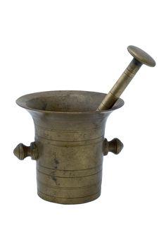 Free Copper Mortar Stock Image - 2461231