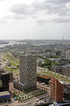 Free View On Rotterdam Citycenter Stock Photography - 2461892