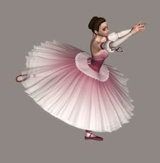 Free Ballerina Royalty Free Stock Photography - 2461957
