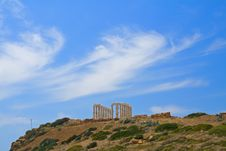Free Poseidon, Greek Skyscape Royalty Free Stock Photography - 2462127