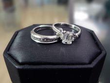 Free Wedding Ring & Band 3 Stock Photos - 2462603