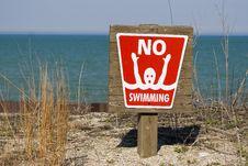 Free No Swimming Stock Photos - 2462613