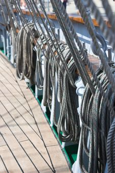 Free Ropes And Rigging Stock Photo - 2462740