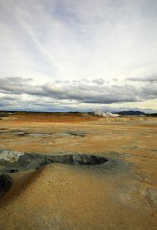 Namaskaro Volcanic Landscape Royalty Free Stock Photo