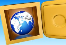 Free Earth In Vault Royalty Free Stock Photos - 2464538