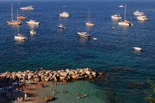 Free Bird-eye View Of The Capri Stock Photo - 2464590