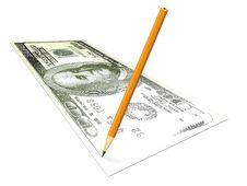 Free Draw Your Money Royalty Free Stock Images - 2465119