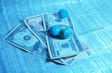 Free Money Makes The World Go Round Stock Images - 2465844
