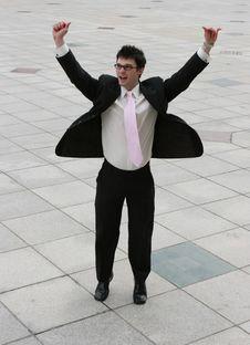 Free Happy Businessman Stock Photos - 2466463