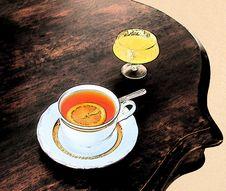 Free Tea_lemon&honey Royalty Free Stock Image - 2467166