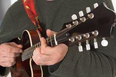 Free Man Playing Guitare Royalty Free Stock Photo - 2467455