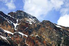 Free Mountain Peek Royalty Free Stock Photography - 2467597