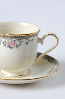 Free Close Up Of Fine China Cup And Stock Images - 2467644