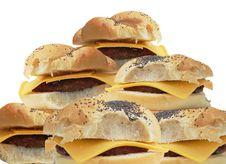 Free Cheeseburgers, Cheeseburgers Royalty Free Stock Photo - 2468655