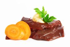 Free Raw Liver Stock Photography - 24600332