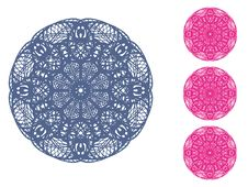 Free Circle Ornament Royalty Free Stock Photography - 24601007