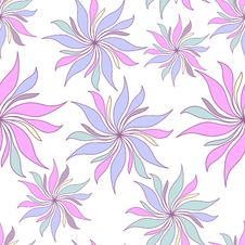 Free Pastel Flowers Seamless Pattern Royalty Free Stock Photos - 24603138