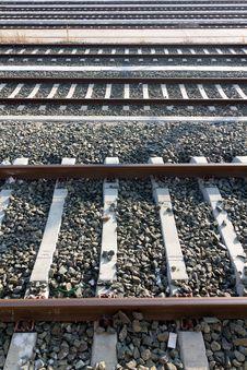 Free Railways In Perspective Stock Photos - 24606303