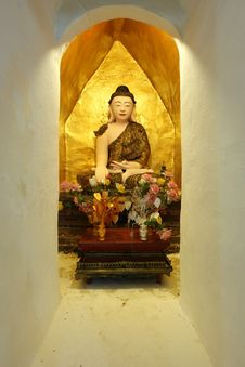 Image Of Buddha In Burmese Style Royalty Free Stock Photos