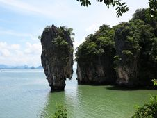 Free James Bond Island Thailand Royalty Free Stock Images - 24609339
