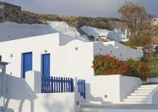 Free Traditional House At Santorini Island Royalty Free Stock Images - 24609609