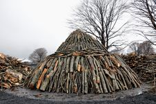 Free Charcoal Pile Stock Photo - 24609960